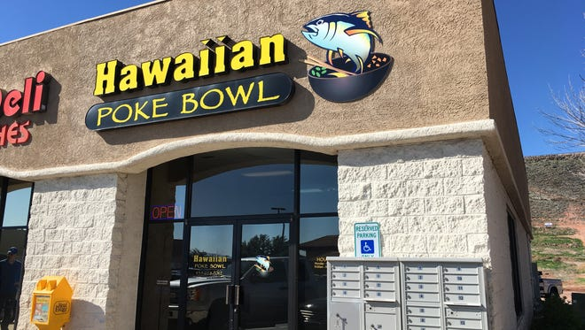 Hawaiian Poke Bowl is located at 175 W. 900 South, Suite 1, St. George.