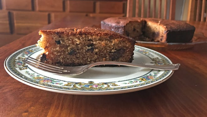 Figs, walnuts and honey are central to this Syrian cake.