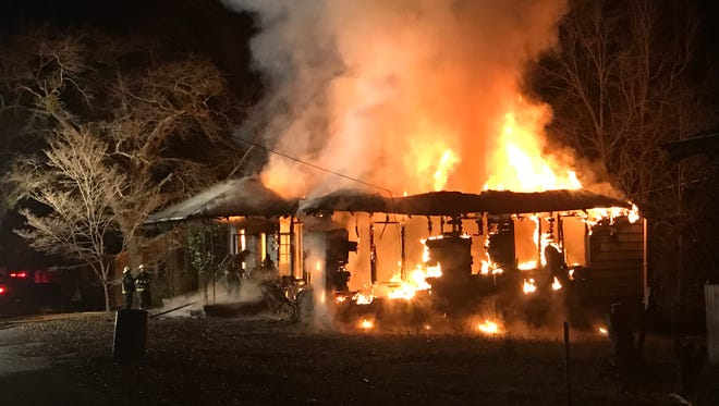 A home on Cox Street in Belton caught fire Thursday morning.