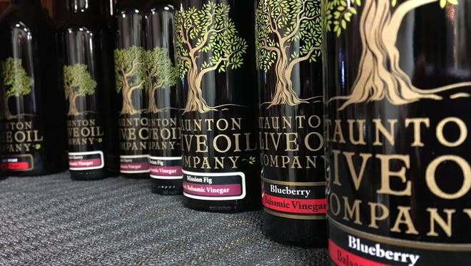 Staunton Olive Oil Company is working on installing a demonstration kitchen in its downtown space.