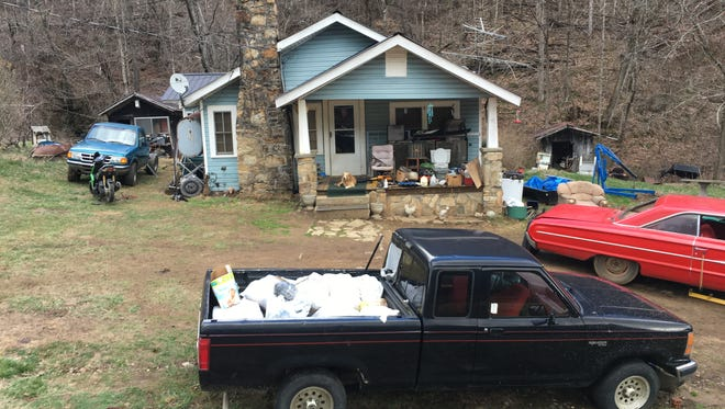 A months long investigation into activity around this residence on Fred Holcombe Road in Mars Hill has led to felony drug and weapons charges for five. More arrests are likely according to Sheriff Buddy Harwood.