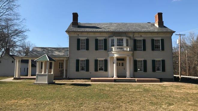 Glenburn Estate on Hamburg Turnpike in Riverdale. The 5-acre property dates back to 1816.