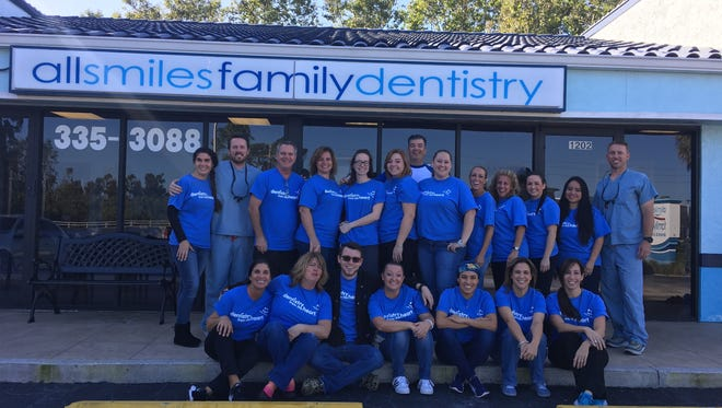 All Smiles Dentistry recently completed its fifth annual Dentistry from the Heart event.