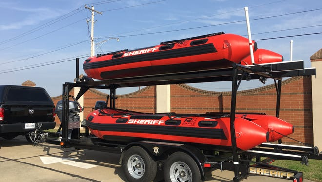 Thanks to a grant awarded from the Firehouse Subs Public Safety Foundation, BPSO has two new inflatable rescue boats to call its own.
