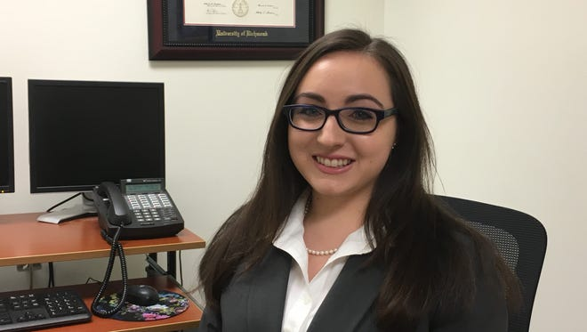 Holly Rasheed, the state's youngest attorney, joined the Augusta County Commonwealth Attorney's Office on Friday.