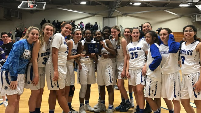 The Central Group IV champion Sayreville Bombers