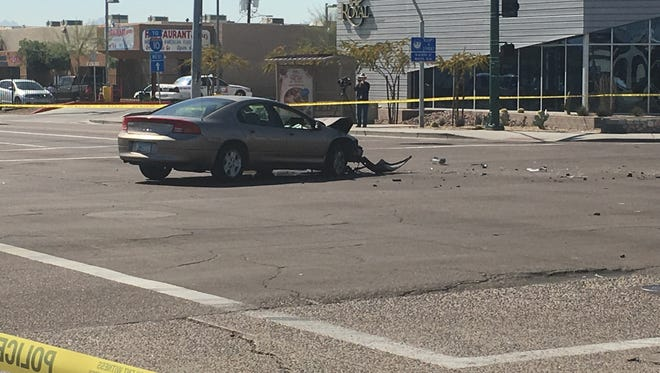 A fatal car accident occurred at 27th Avenue and McDowell Road at 10:40 a.m. on Tuesday.
