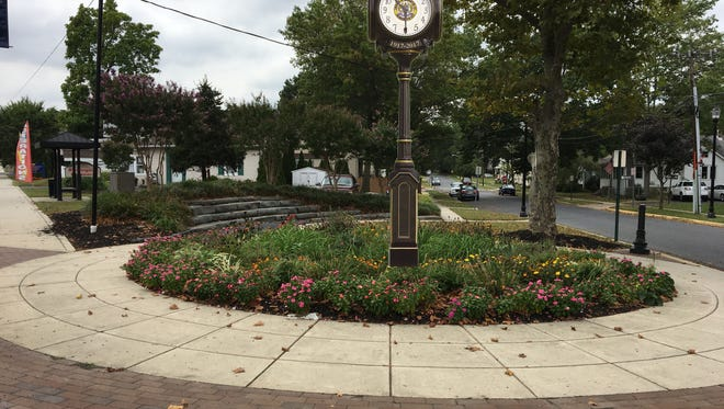 A rendering shows the planned Centennial Park in Barrington to celebrate the borough's 100th birthday this year.