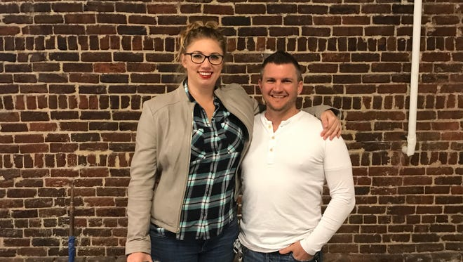 Joel McLead moved to Knoxville in January with his wife, Mariah, to open the city's first self-serve bar, Pour Taproom. The two hope to have it opened in June.