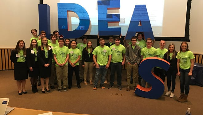 Teams competed in the Second Annual IGNITE! Youth Idea Challenge on March 8. Students from Campbellsport High School, Fond du Lac High School, Horace Mann High School, Waupun High School and Laconia High School competed.
