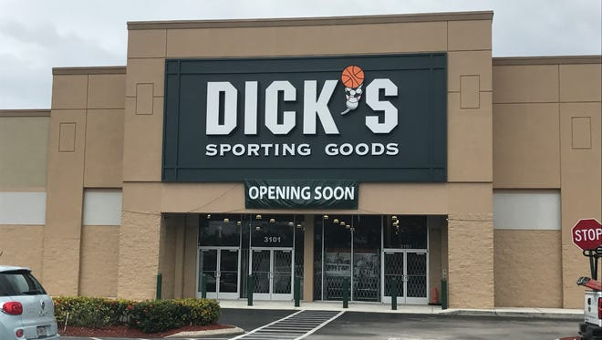 The Treasure Coast's first Dick's Sporting Goods kicks off its three-day grand opening celebration March 24.