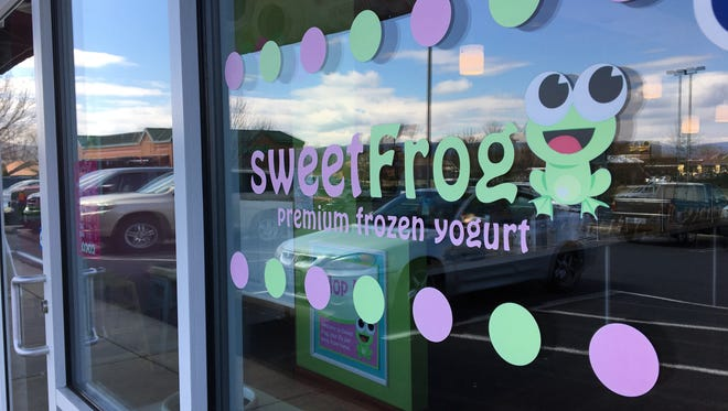sweetFrog in Waynesboro reopened Friday, March 17, 2017.