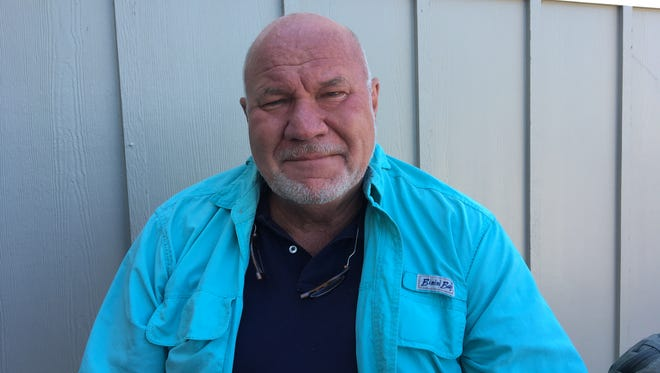 """Randy Wayne White transferred the personality of his friend, retired Red Sox pitcher Bill """"Spaceman"""" Lee to """"Tomlinson,"""" a recurring character in White's Doc Ford novels."""