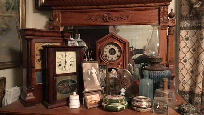 An array of items with historical significance to Verona, according to Historical Society President Robert Williams.