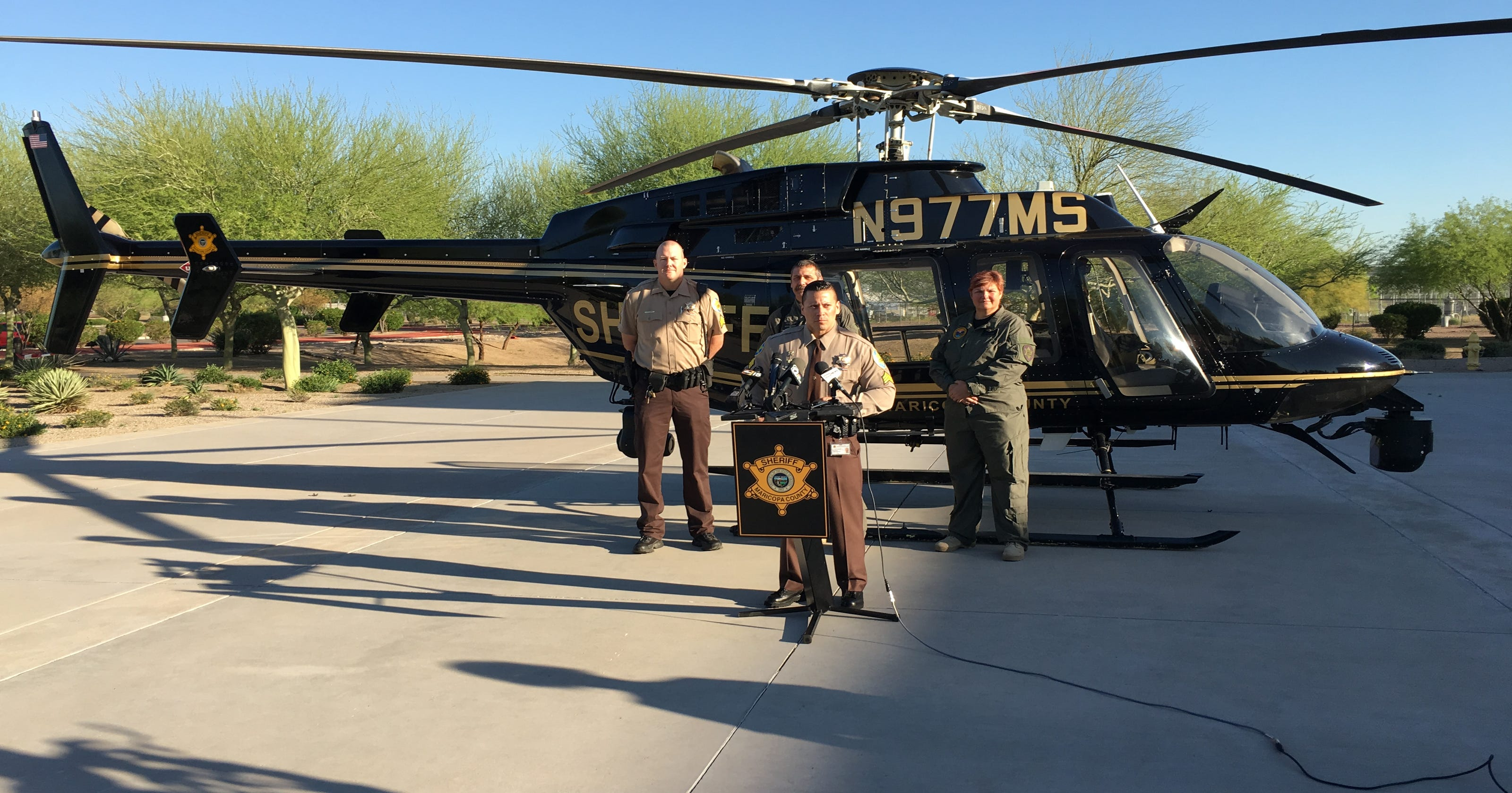 How Phoenix-area police use planes and helicopters for surveillance