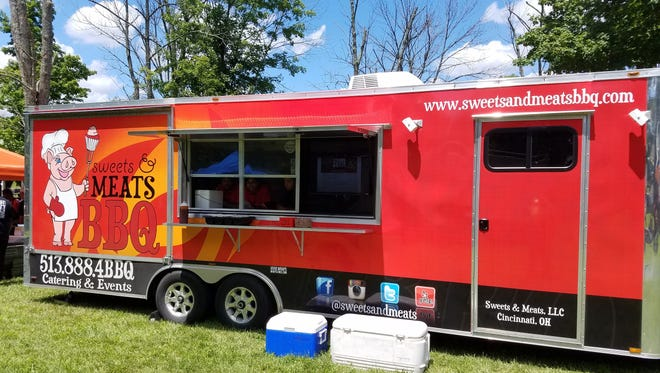 Sweets and Meats BBQ  is one of the food trucks on the scheduled for North College Hill Food Truck Fridays.