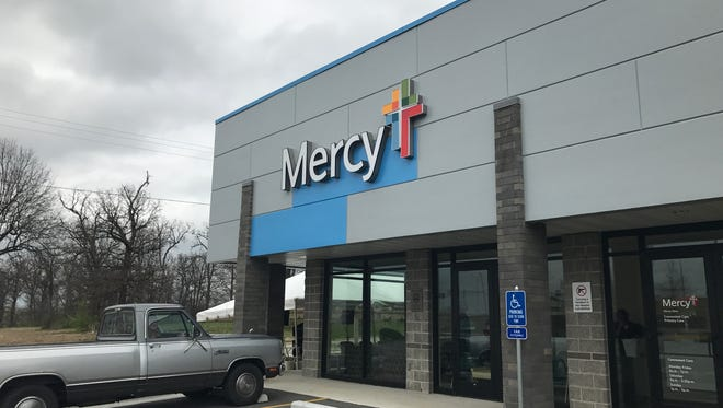 Mercy recently opened a clinic in Bolivar. It is located at 2520 S. Springfield Ave., in the Cribbers Corner shopping center.