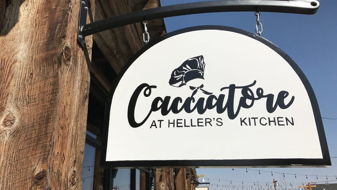 Cacciatore at Heller's Kitchen is open at Jessup Farm just south of the Timberline and Prospect intersection.