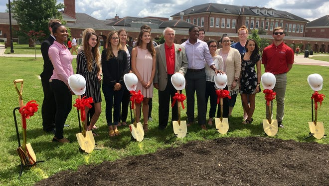 The University of Louisiana at Lafayette broke ground Wednesday on a new facility that aims to help students gain real-world business experience.