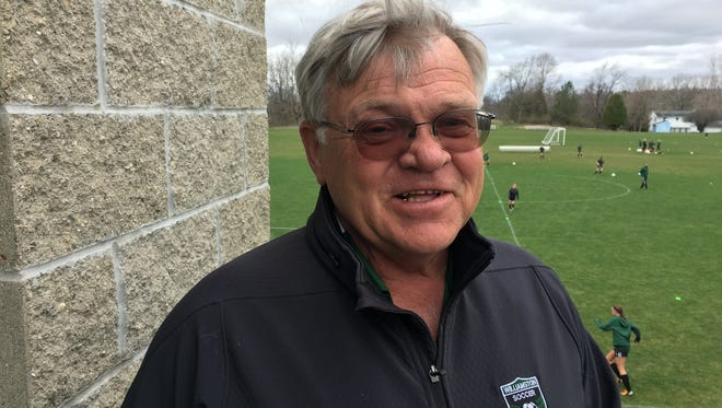 After 22 seasons as the Williamston girls soccer coach, Jim Flore has decided to step away after the 2016 season. Flore started the program in 1995.