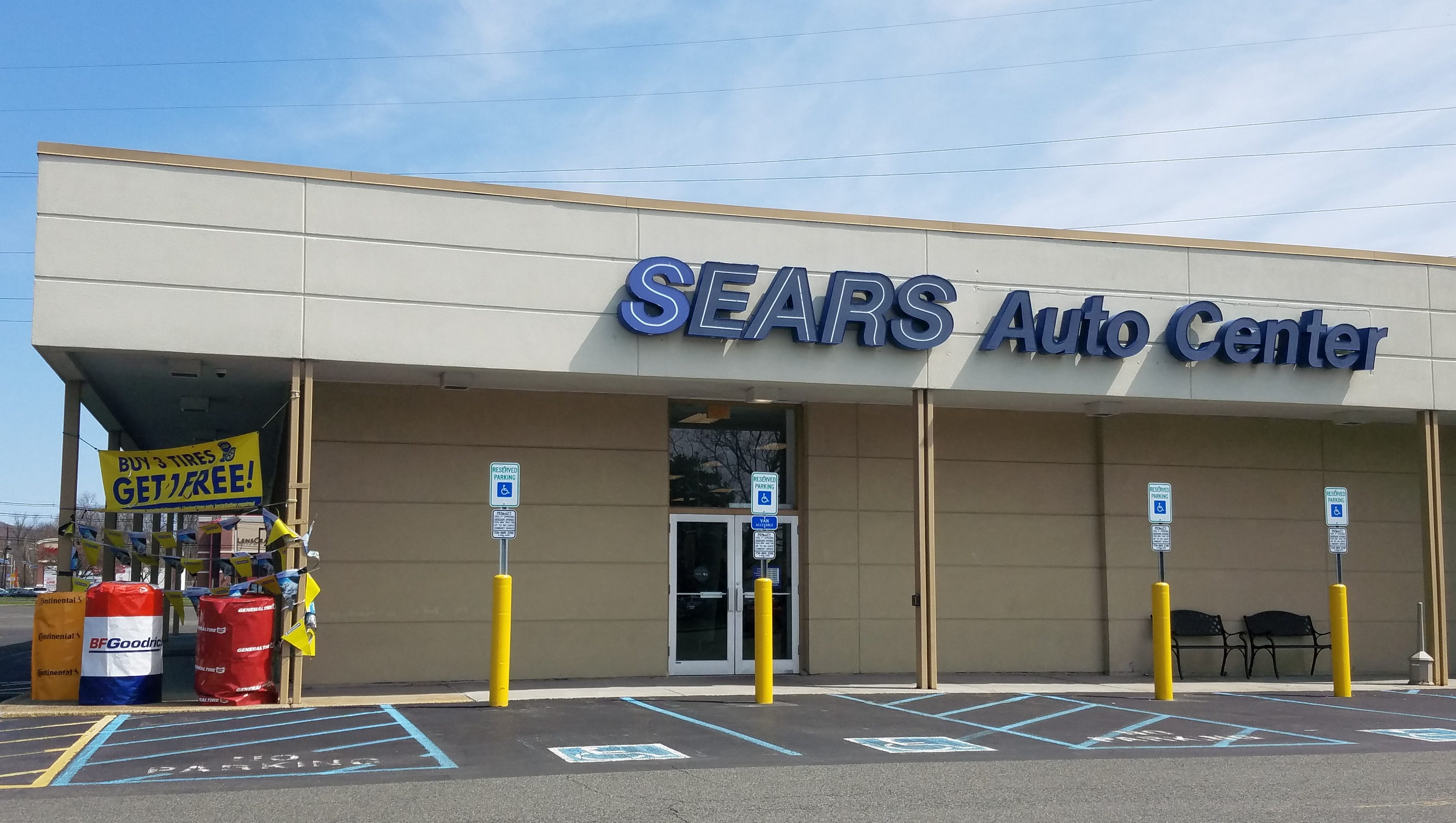 Cinema May Replace Sears Auto Center On Route 22 In Watchung