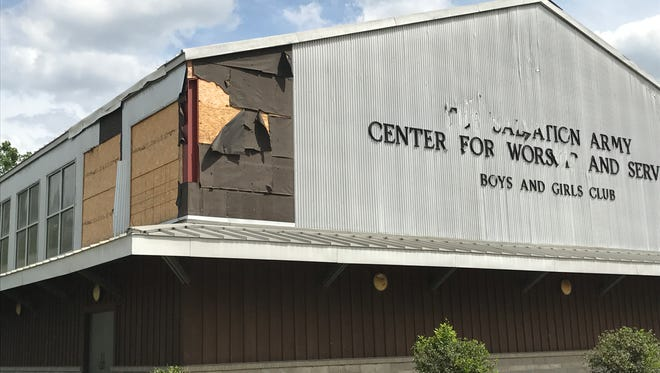 The Salvation Army of Hattiesburg's campus was severely damaged during the Jan. 21 tornado.