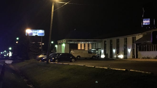 Indianapolis Metropolitan Police were investigating after a person was found fatally shot inside a room at the Shadeland Inn in the 3500 block of North Shadeland Avenue on April 13, 2017.