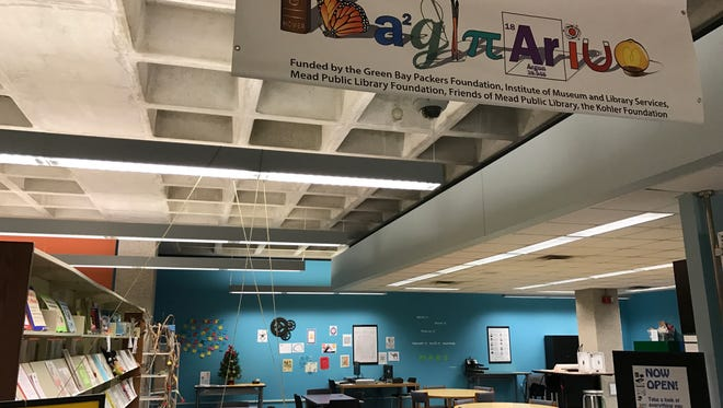Mead Public Library opened a makerspace, called the Imaginarium, in 2016, offering a range of hands-on opportunities to learn and create, from complex technology projects to traditional crafts.