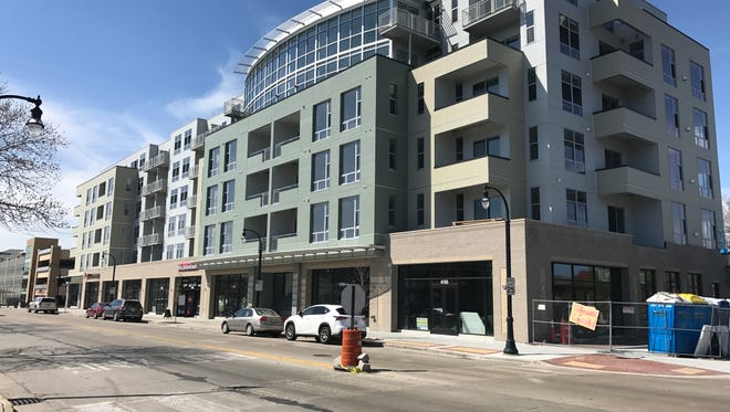 OrangeTheory Fitness and Wisconsin Vision recently opened on the ground floor of the six-story Mosaic building, 4175 N. Oakland Ave. Bentley's Pet Stuff and Mod Pizza are expected to open on the ground floor in May.