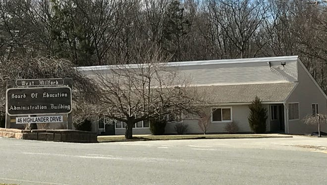 The West Milford Board of Education Administration Building, as seen in March.