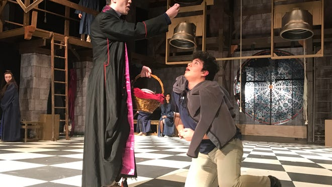 "Archbishop Stepinac High School in White Plains presents the New York regional premiere of ""The Hunchback of Notre Dame."" At 7:30 p.m., April 28, 29, May 5, 6; 2 p.m., May 7; $22; $18 seniors and children under 12; www.stepinac.org; 914-946-4800, ext. 200."