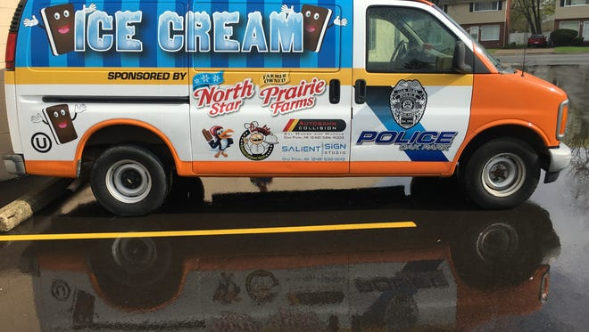 Oak Park's police department is getting its own ice cream truck.
