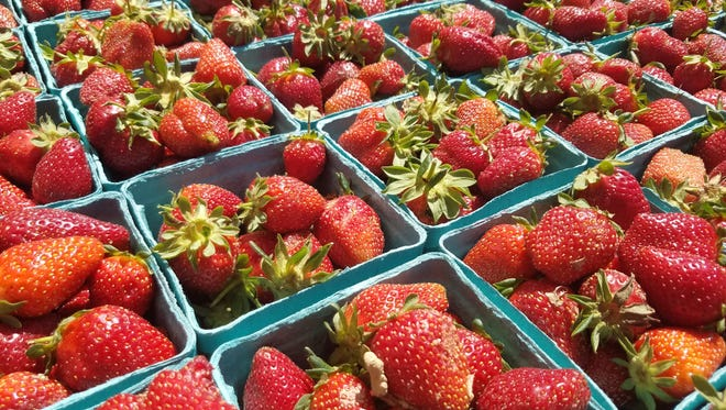 Strawberries are ripe and ready from McConnell Farms.