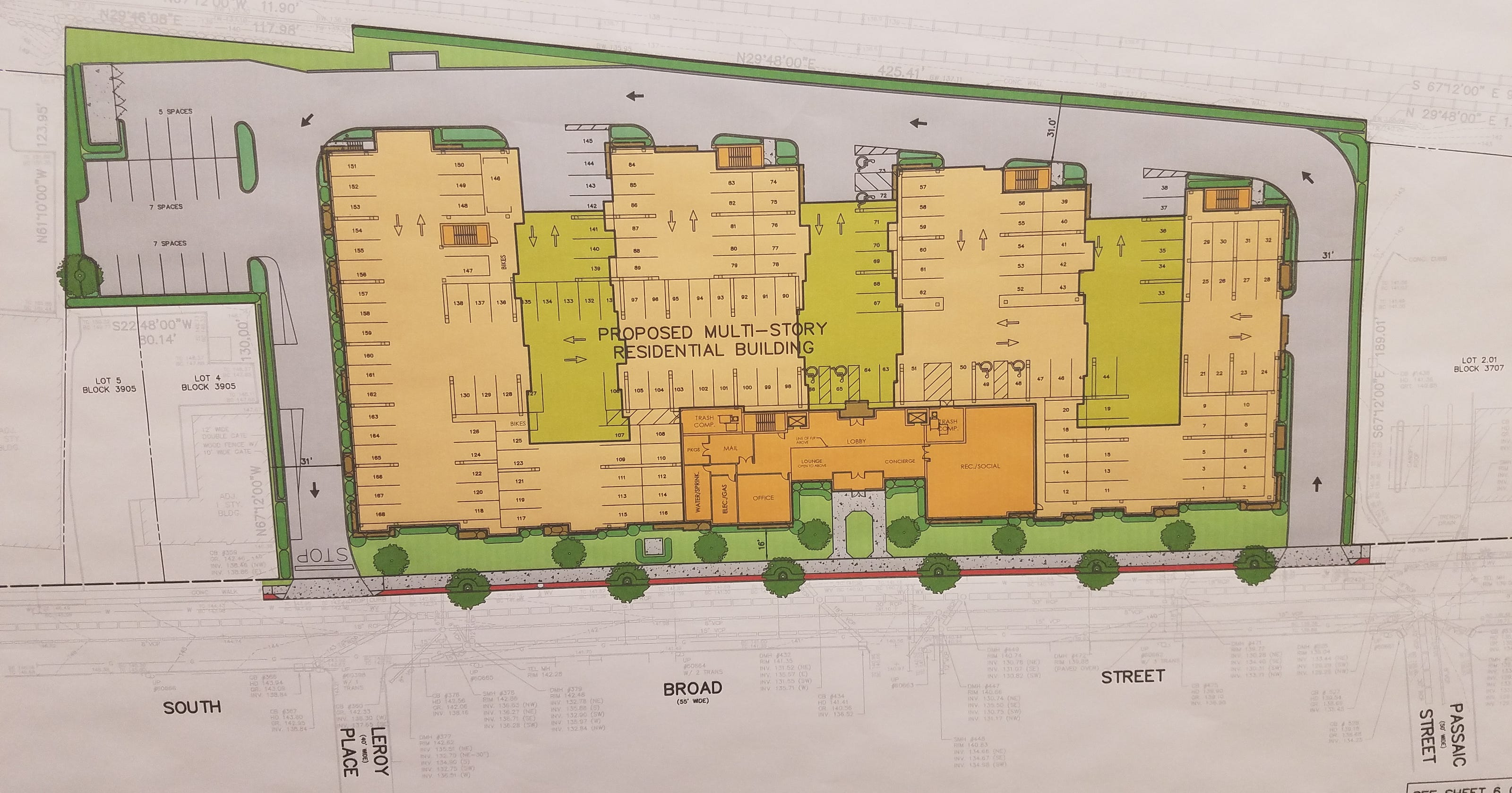 Ridgewood Planning Board Roves Apartment Complex On South Broad Street