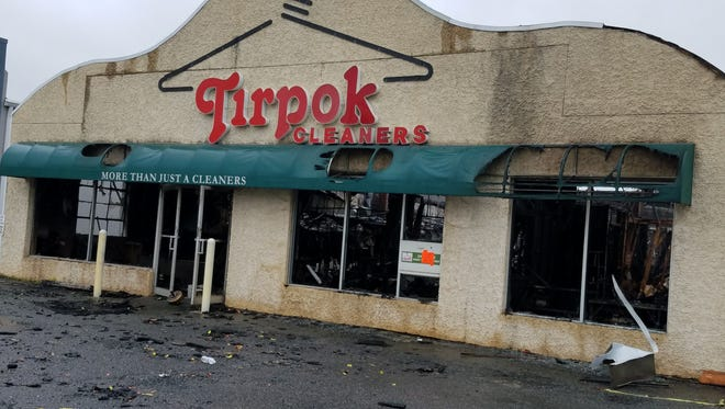 The state has filed suit against Tirpok Cleaners in Flemington for allegedly contaminating the groundwater with a solvent that made its way into a borough well. Fire destroyed the Reaville Avenue business in May 2017.