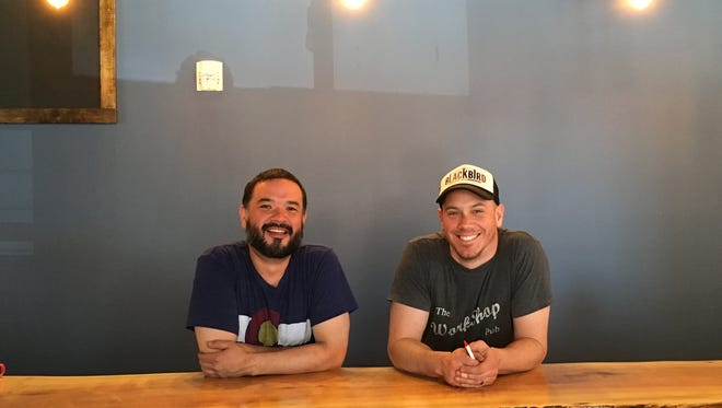 Long-time friends Jordan Paul Taylor, left, and Barry Putzke opened Bread and Circus Sandwich Kitchen in 2017 at 600 N. Main Ave., Suite 110 in Sioux Falls.