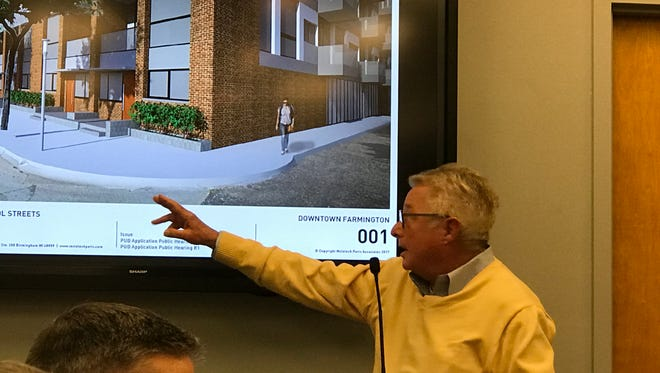 Walter Cohen, general manager of AC Acquisitions, explains the development he's proposing for the former Maxfield Training Center property.