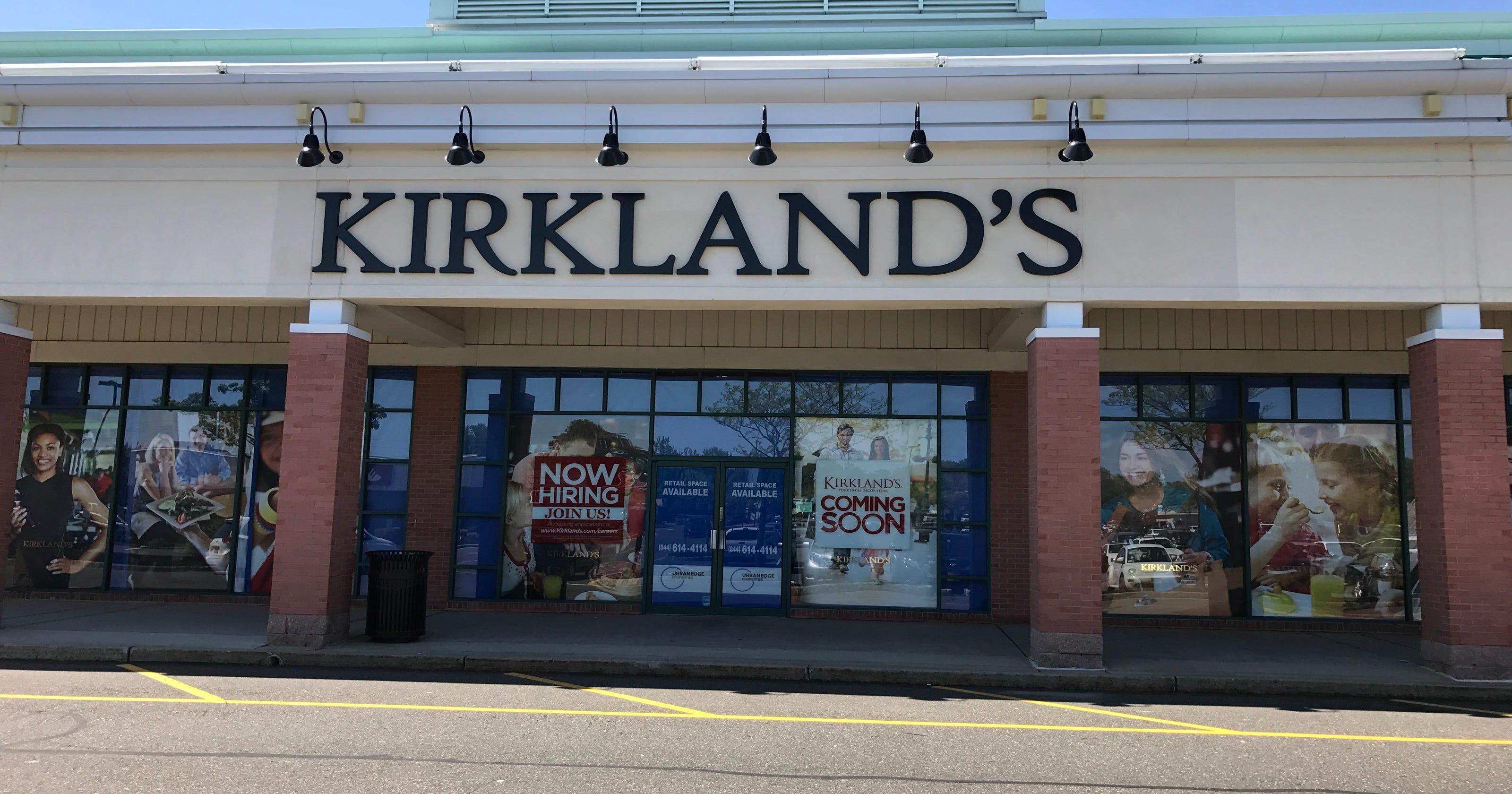 Kirkland's opening home decor store in Brick