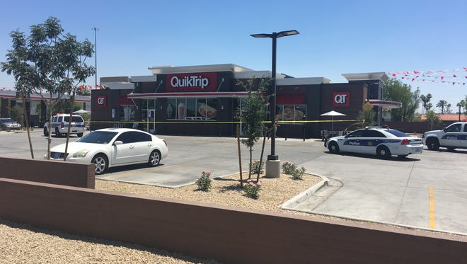 Phoenix police say an altercation between two men in a QuikTrip bathroom soon turned deadly when one man shot the other man, who eventually died after being taken to a hospital.