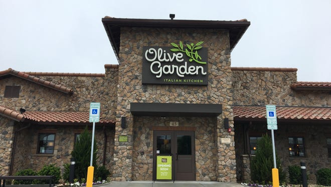 Olive Garden in Harrisonburg is set to open May 22 at 11 a.m.