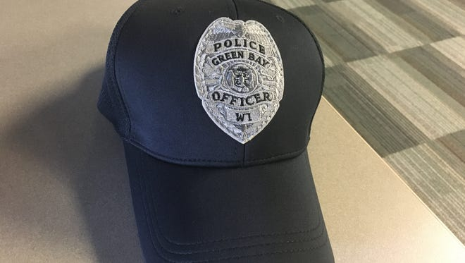 The new uniform accessory for Green Bay police.