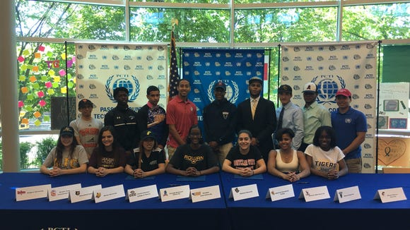 "Here is the ""All Sports"" photo of Passaic Tech athletes from soccer, swimming, baseball, track and cross-country."