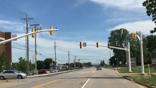 New traffic signal at 4200 Epworth Road