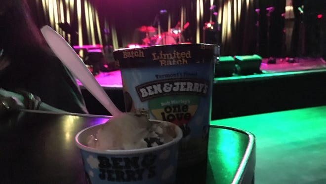 Ben & Jerry's had a kickoff party for its flavor One Love Monday in Hollywood.