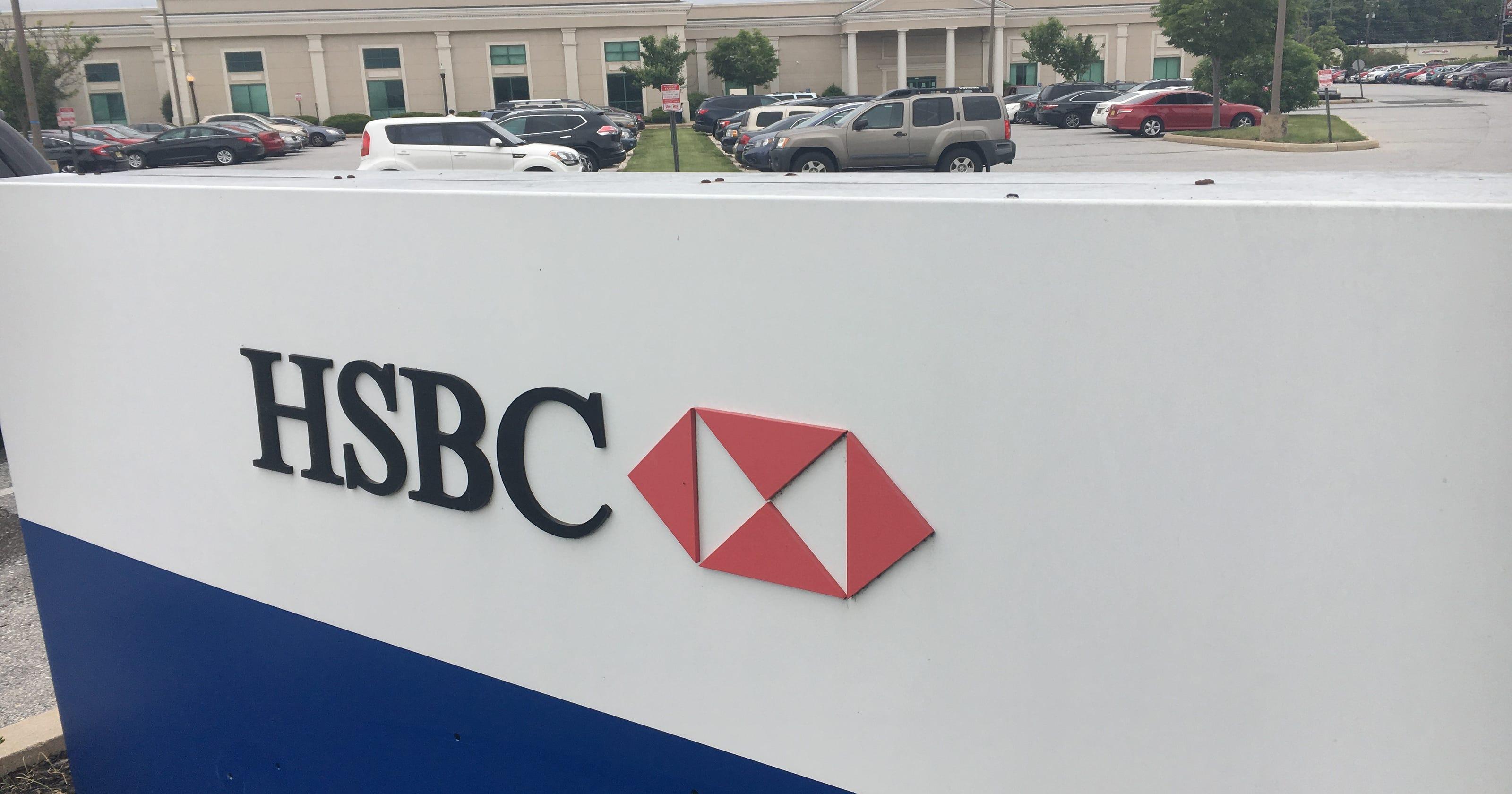HSBC to close New Castle center, move 450 jobs