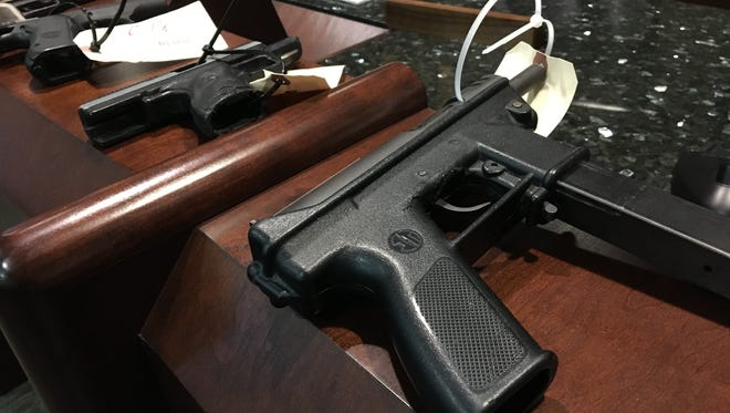 Nearly a dozen guns have been confiscated from juveniles since January.