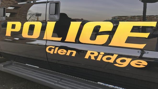 A Glen Ridge police SUV