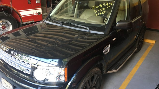 A Land Rover stolen from a Mountain Lakes driveway was recovered this week in Newark.