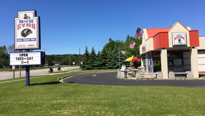 On the Go Gyro, a drive-thru restaurant at 2810 Plover Road in Plover, is now open for the season.