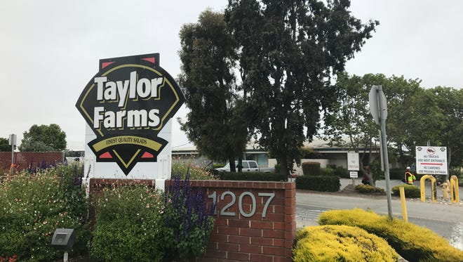 Taylor Farms at 1207 Abbott St., in Salinas.